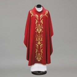 Gothic Chasuble 10236 - Red  - 1