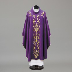 Gothic Chasuble 10237 - Purple