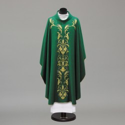 Gothic Chasuble 10238 - Green  - 4