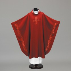 Gothic Chasuble 10240 - Red