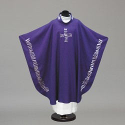 Gothic Chasuble 10241 - Purple