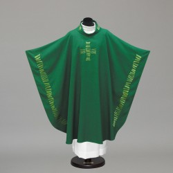 Gothic Chasuble 10242 - Green  - 3