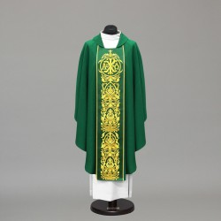 Gothic Chasuble 10247 - Green  - 3