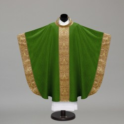 Gothic Chasuble 10249 - Green  - 1