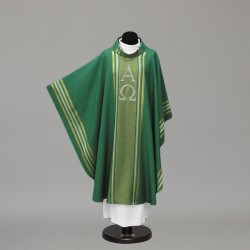 Gothic Chasuble 10255 - Green  - 3