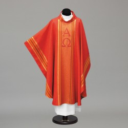 Gothic Chasuble 10256 - Red  - 4