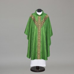 Gothic Chasuble 10258 - Green  - 2