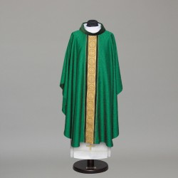 Gothic Chasuble 10264 - Green  - 3