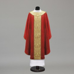 Gothic Chasuble 10272 - Red