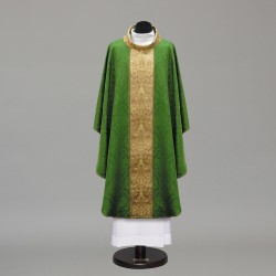 Gothic Chasuble 10275 - Green  - 3