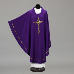 Gothic Chasuble 10277 - Purple