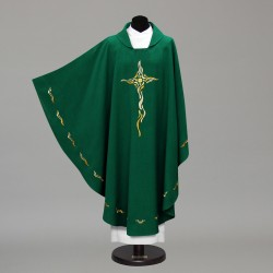 Gothic Chasuble 10280 - Green  - 4