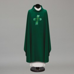 Gothic Chasuble 10282 - Green  - 2