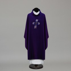 Gothic Chasuble 10283 - Purple