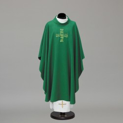 Gothic Chasuble 10286 - Green  - 2