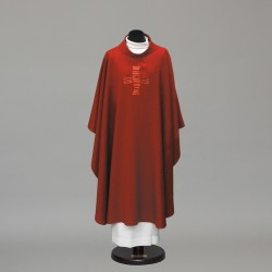 Gothic Chasuble 10287 - Red
