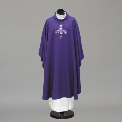 Gothic Chasuble 10288 - Purple