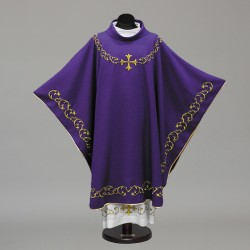 Gothic Chasuble 10291- Purple