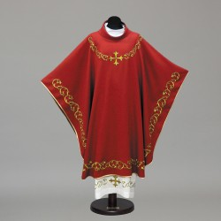 Gothic Chasuble 10292 - Red