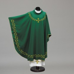 Gothic Chasuble 10293 - Green  - 4