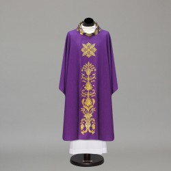Gothic Chasuble 10296 - Purple