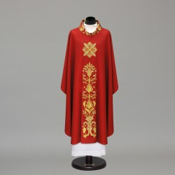 Gothic Chasuble 10297 - Red