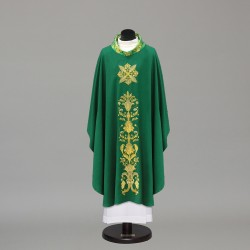 Gothic Chasuble 10298 - Green  - 5