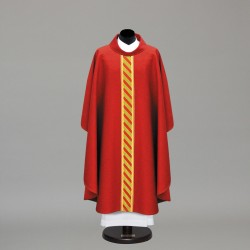 Gothic Chasuble 10299 - Red  - 1