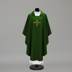 Gothic Chasuble 10301 - Green  - 1