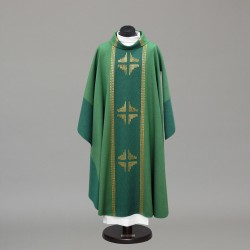 Gothic Chasuble 10306 - Green  - 1