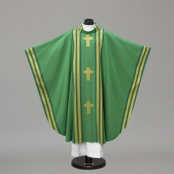 Gothic Chasuble 10308 - Green  - 1