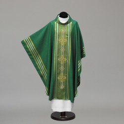 Gothic Chasuble 10318 - Green  - 2