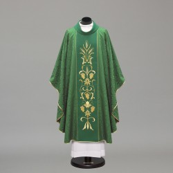 Gothic Chasuble 10326 - Green  - 2