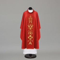 Gothic Chasuble 10327 - Red