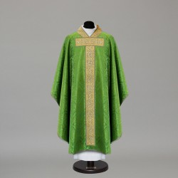 Gothic Chasuble 10330 - Green  - 3