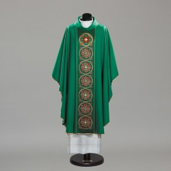 Gothic Chasuble 10336 - Green  - 3