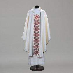 Gothic Chasuble 10339 - Cream