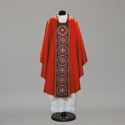Gothic Chasuble 10341 - Red
