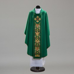Gothic Chasuble 10342 - Green  - 1