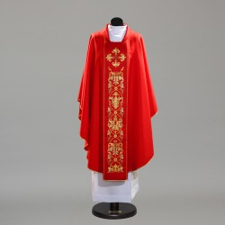 Gothic Chasuble 10343 - Red