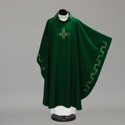 Gothic Chasuble 10347 - Green  - 3