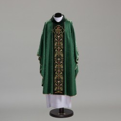 Gothic Chasuble 10352 - Green  - 3