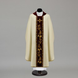 Gothic Chasuble 10354 - Cream