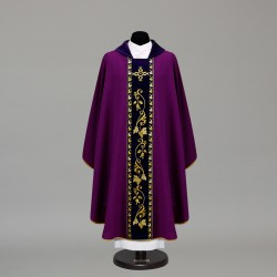 Gothic Chasuble 10356 - Purple