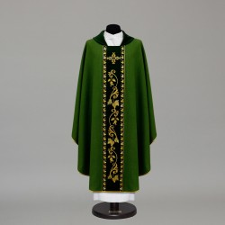 Gothic Chasuble 10357 - Green  - 3