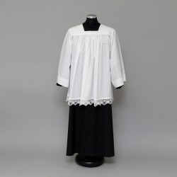 Surplice with cotton lace 1510