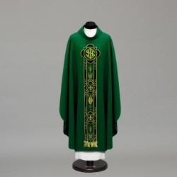 Gothic Chasuble 10372 - Green  - 1