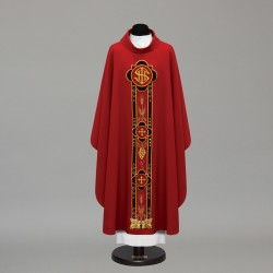 Gothic Chasuble 10373 - Red  - 2