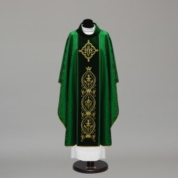 Gothic Chasuble 10377 - Green  - 2