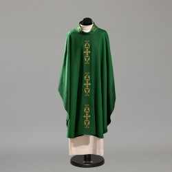 Gothic Chasuble 10383 - Green  - 4